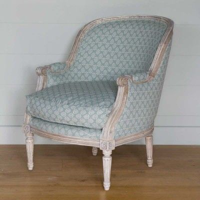 Bergere Library Chair | Susie Watson Designs
