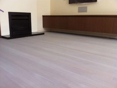 limed jarrah floor