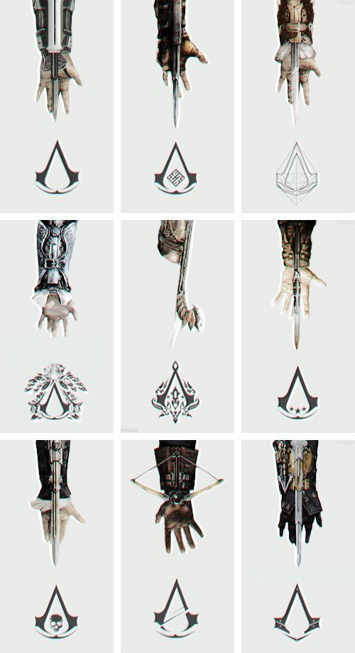 Anybody into hidden blade? Assassins creed tattoo