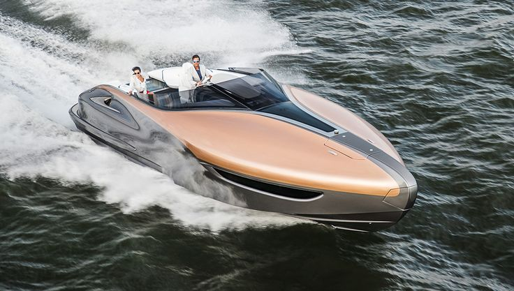 The luxury car brand dips its toes into the water with this one-of-kind concept…
