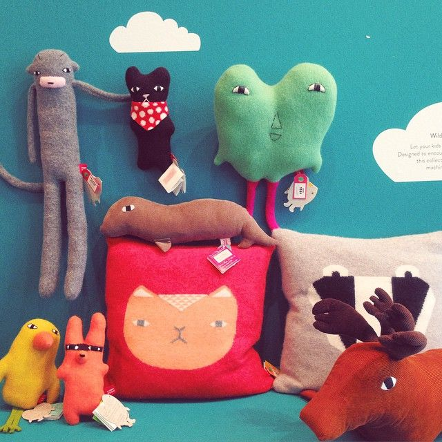 Odd lovely creatures from Donna Wilson #toys