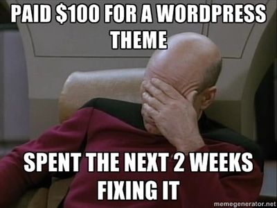 Don't let this be you, take the upcoming Wordpress course from  and take control of your digital life!