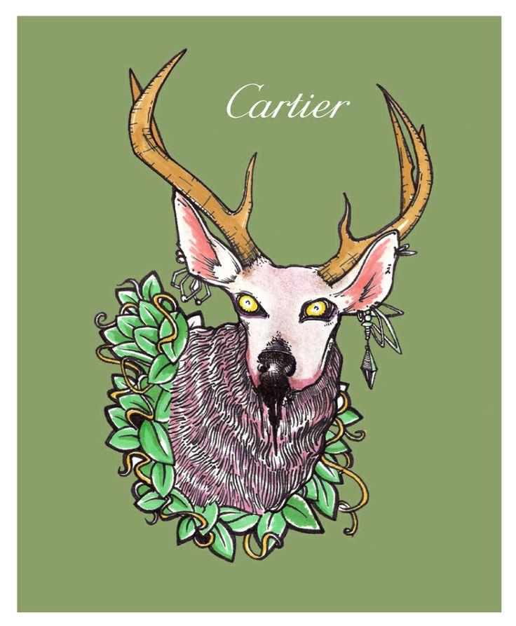 Cartier by Davidj Barrero - Conoce mas de las Industrias culturales creativas en http://blog.culttu.me/