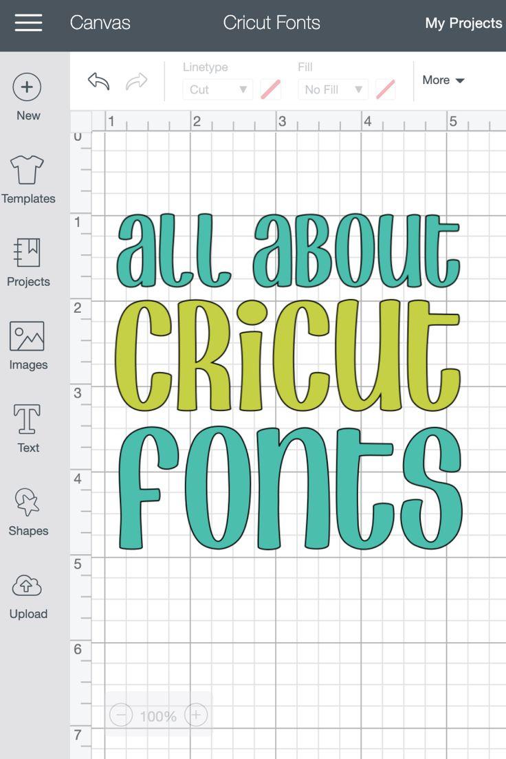 10++ Block letter font cricut trends