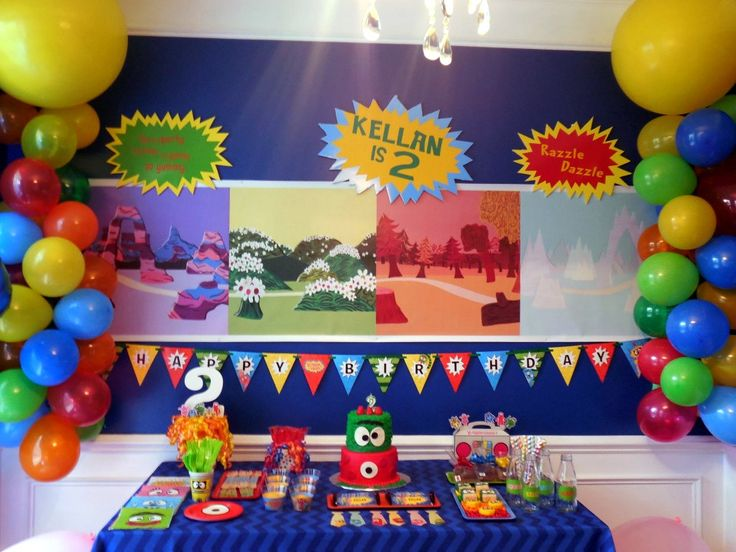 Yo Gabba Gabba Birthday Party Decor - Project Nursery