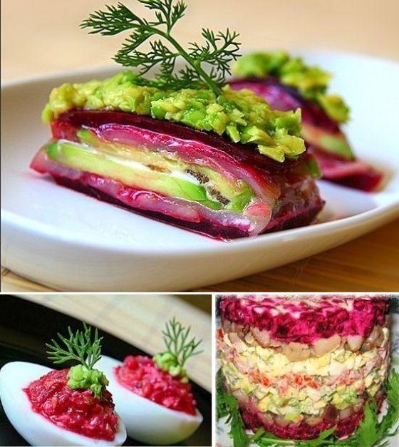 Салат-закуска 3 в 1