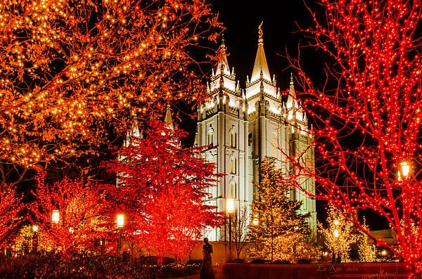 This building is a beautiful piece of architecture that has a spiritual meaning to members of The Church of Jesus Christ of Latter Day Saints, otherwise know as LDS or Mormons.  Salt Lake City Temple square at Christmas brings throngs of visitors from around the world and is considered a great sight for tourism in Utah.
