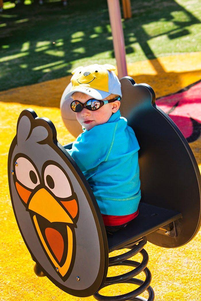 Angry Birds Land @ Särkänniemi Adventure Park #sarkanniemi #tampere visit: http://www.sarkanniemi.fi