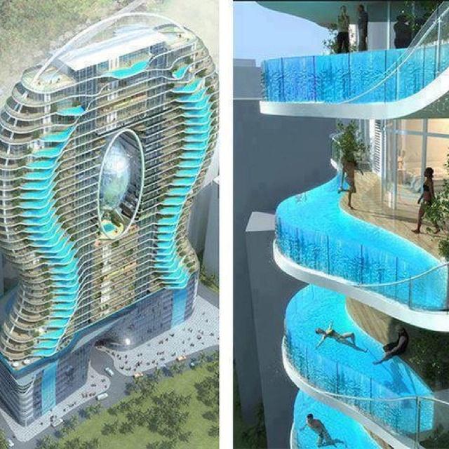 Pools for flats