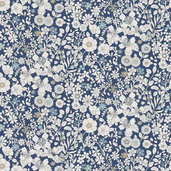 Liberty Tana Lawn Fabric June's Meadow G by Alicecarolinesupply