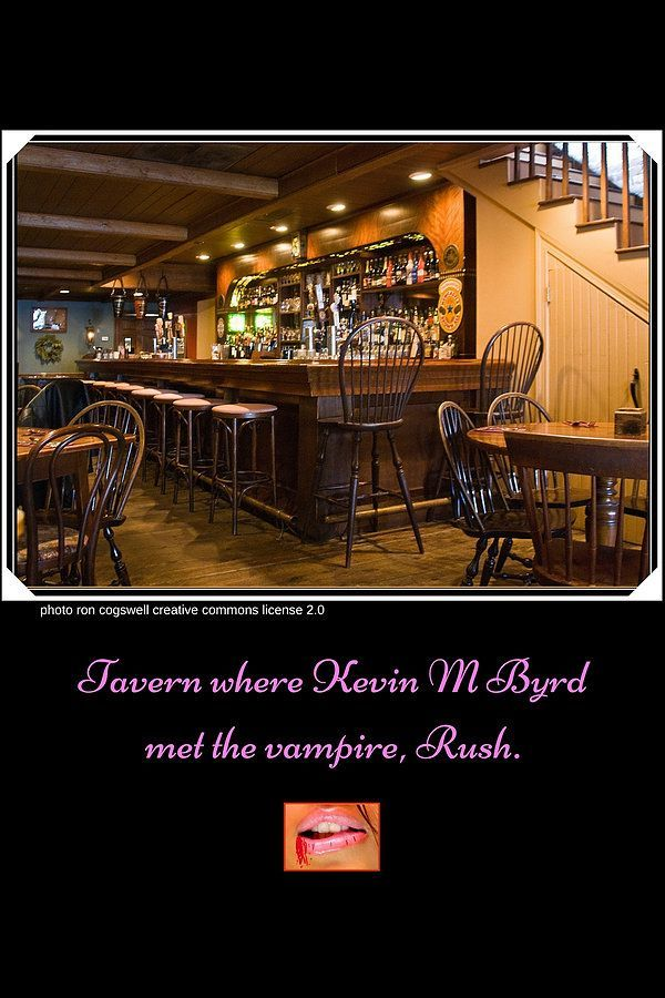 tavern where vampire rush meets kevin m byrd