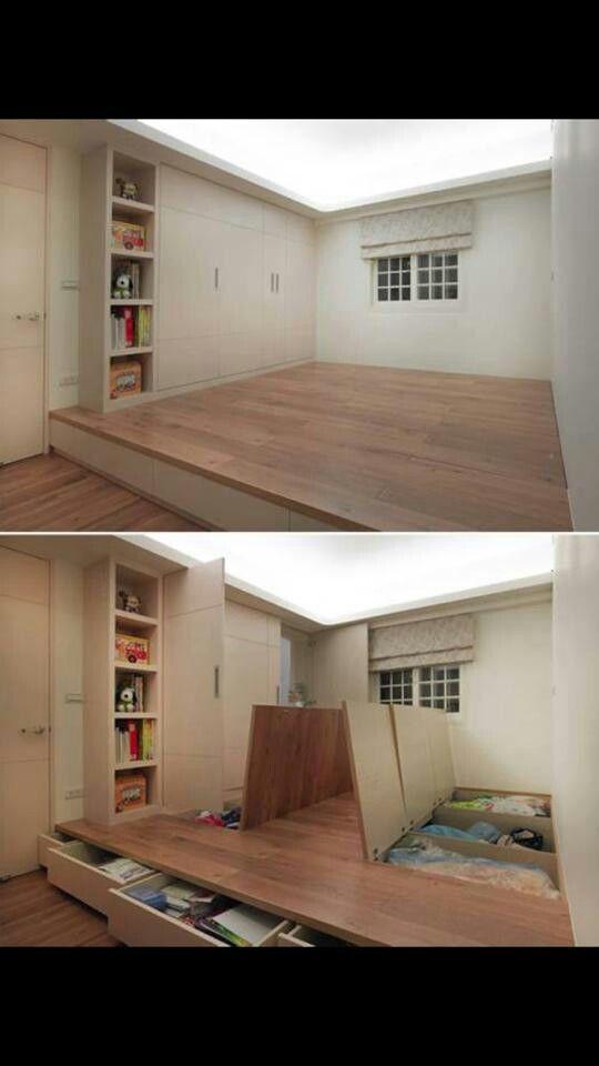 Una brillant manera de guanyar espai a casa.