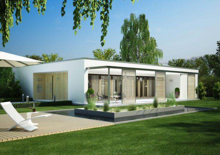 grundriss bungalow modern klein holz google suche sommerhaus pinterest sample resume. Black Bedroom Furniture Sets. Home Design Ideas