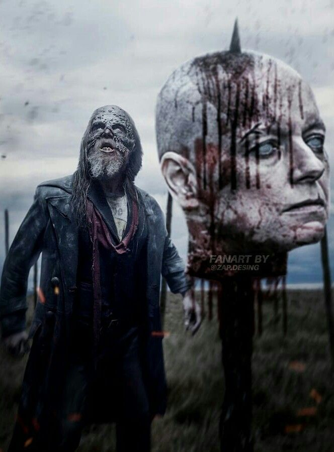 Halloween 2020 Laurie Decapitated Art BETA AND A DECAPITATED ALPHA in 2020 | Walking dead wallpaper, The
