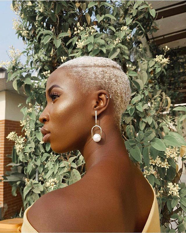 23+ Platinum blonde on dark skin trends