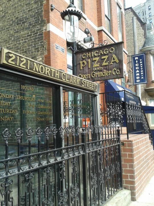 Chicago: home of America's best pizza? Chicago Pizza and Oven Grinder was the highest-rated Chicago pizza place, though it didn't crack the top 10.