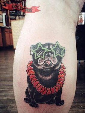 Hawaiiaanse Pug - Ingezonden door Matt Fuller