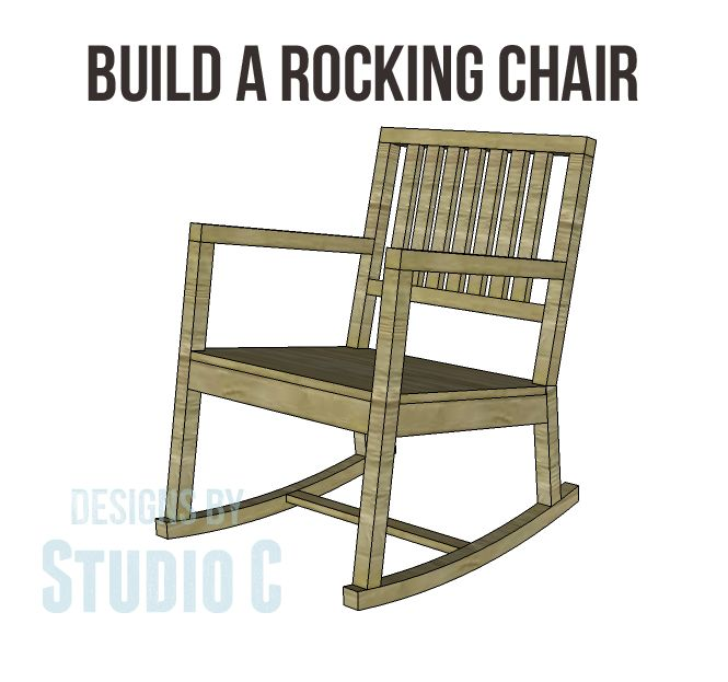Build A Rocking Chair Chair Woodworking Plans Diy Rocking Chair Rocking Chair Plans