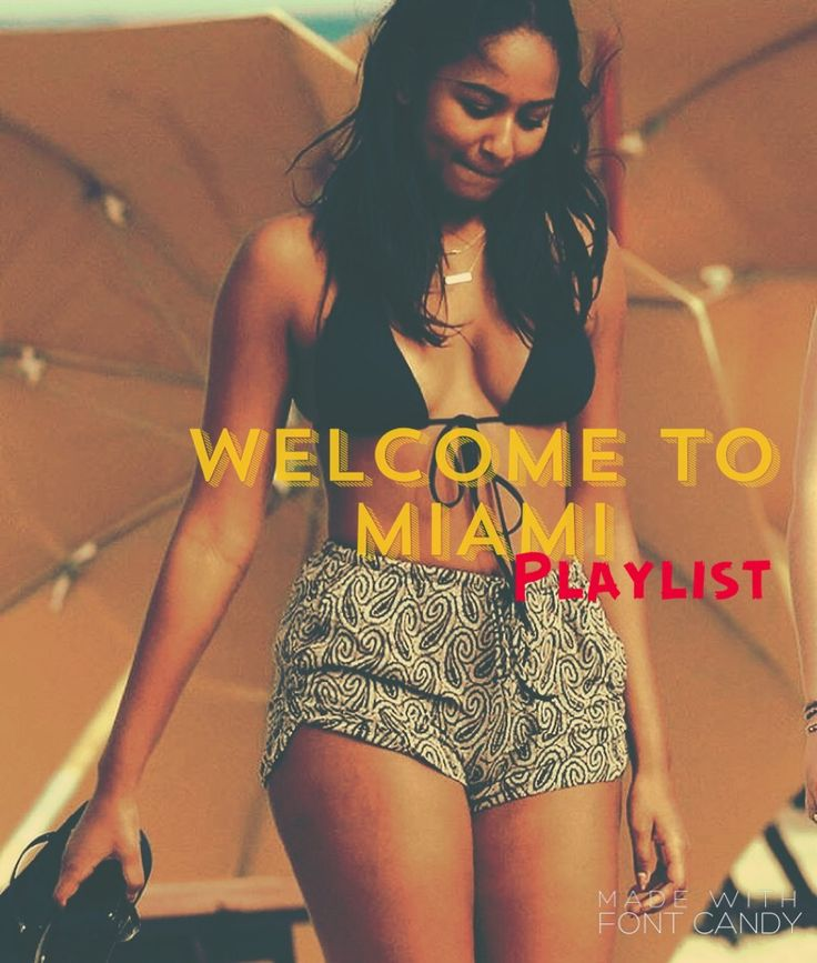 Welcome to Miami Apple Music playlist is your must have playlist when visiting the 305! Featuring: Trina, Trick Daddy, Dj Khaled, Drake, Rihanna, Ballgreezy, Money Mark, Desloc and many more!