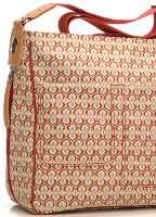 Storksak - Suzi Nappy Bag in Kasbah Red Print. Shop for baby bags online at Queen Bee