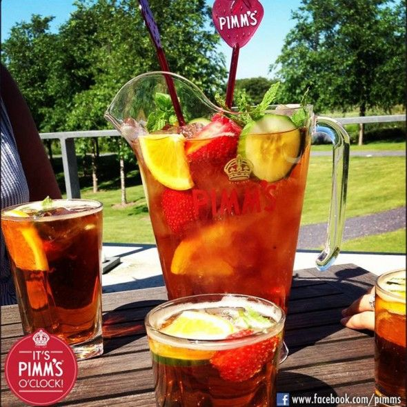 Here's how to make the perfect jug of Pimms - http://www.goodhousekeeping.co.uk/food/food-news/how-to-make-the-perfect-jug-of-pimms