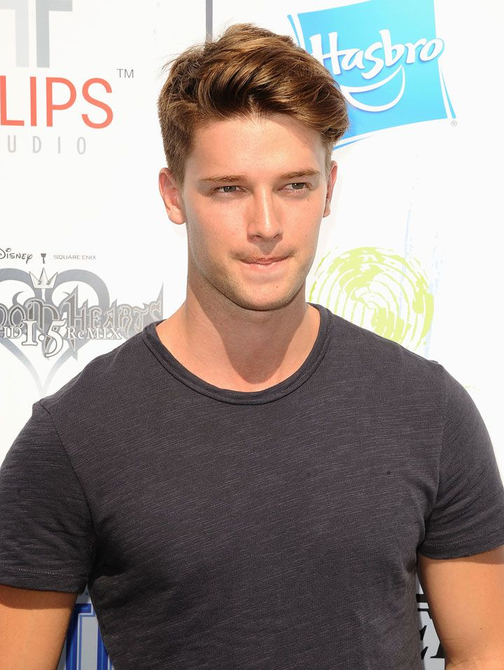 "Major hottie Patrick Schwarzenegger is on Town  Country's second annual ""50 Eligible Bachelors"" list."
