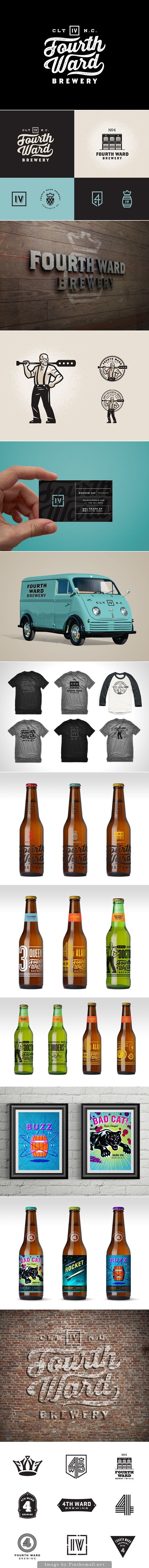 Fourth Ward Brewery By Matt Stevens (Business Card Restaurant)