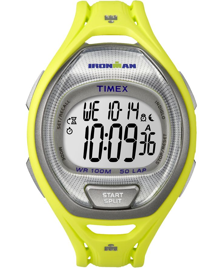 Lightweight, breathable and ergonomic, this watch is built to handle as much as you can. This is one of our favorites, with a large display and a comfortable resin strap in energizing colors. - See more at: http://global.timex.com/watches/ironman-sleek-50-full-size-tw5k961009j#sthash.qIs2z2D6.dpuf