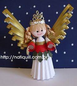 NatiQuill Blog: Fadinha de Natal