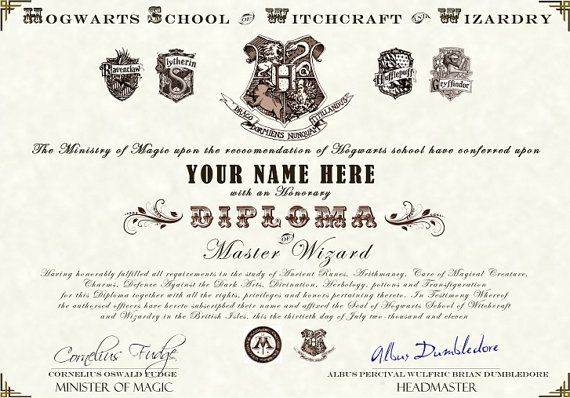 Top Harry Potter Diploma Wallpapers