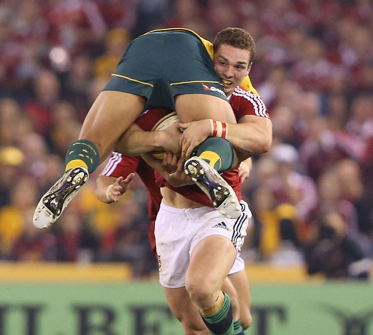 George North demolishes the Ozzies (Wales & British Lions)