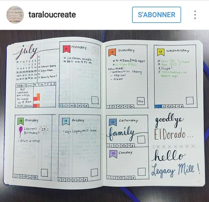 Mise en page daily
