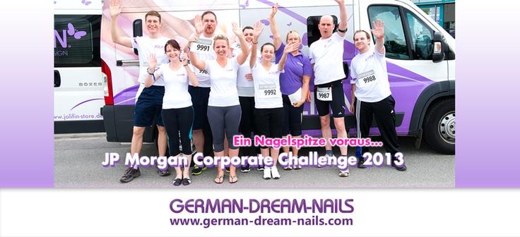 Unser German Dream Nails Team steht in den Startlöschern. Wir freuen uns auf den JP Morgan Lauf 2013. Es geht los! Eine Nagelspitze voraus - www.german-dream-nails.com #jpmorgan #Frankfurt #Jolifin