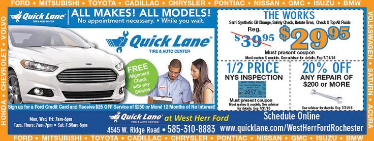 256 best auto coupons of the month images on pinterest for Ford motor service coupons
