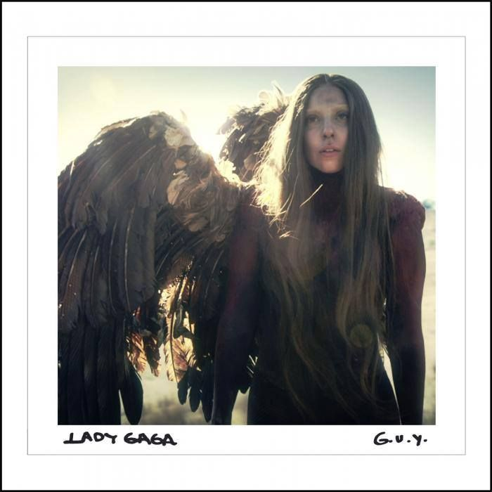 Lady Gaga - G.U.Y. single cover