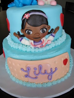 doc mcstuffins cake! birthday ideas
