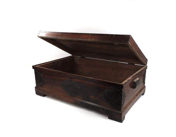 Asante Chest Trunk Furniture African Art 124759 Trunk Furniture