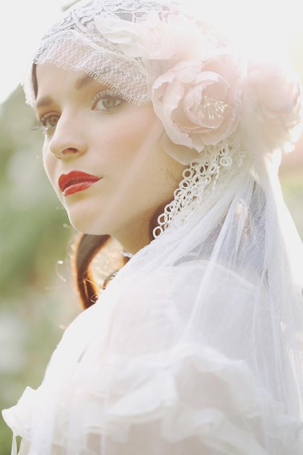 vintage veils ideas