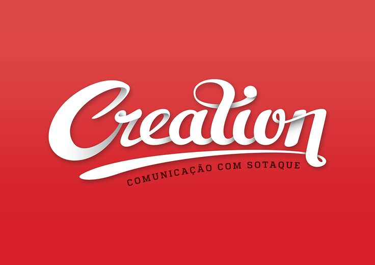 Logo for @agenciacreation by João Fernandes #angola #portugal #caboVerde #brasil #logo #design #agency #handlettering #Creation