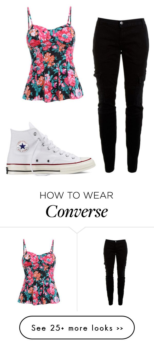 """Back to school"" by lexi-slimak on Polyvore featuring Joie and Converse"