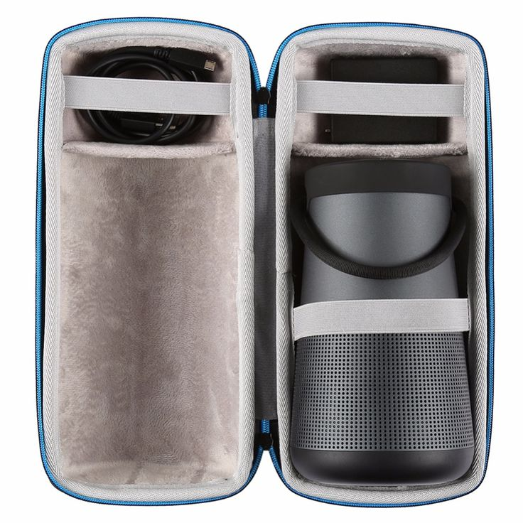 <Click Image to Buy> Cycling accessory Wireless Bluetooth Speakers Cases For Bose Soundlink Revolve  Extra Space For Plug    Cables Classic Zipper Bag **  #Cycling