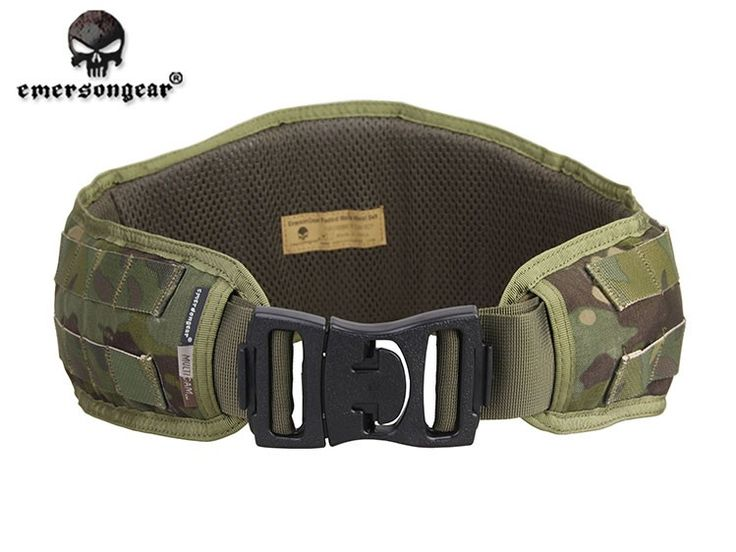 Tactical Belt Hunting Combat MOLLE Padded Military Belt with Plastic Buckle
