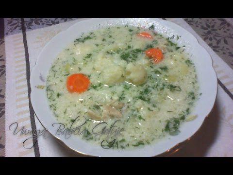 Zupa kalafiorowa z lanymi kluskami i koperkiem :: Skutecznie.Tv [HD] - YouTube