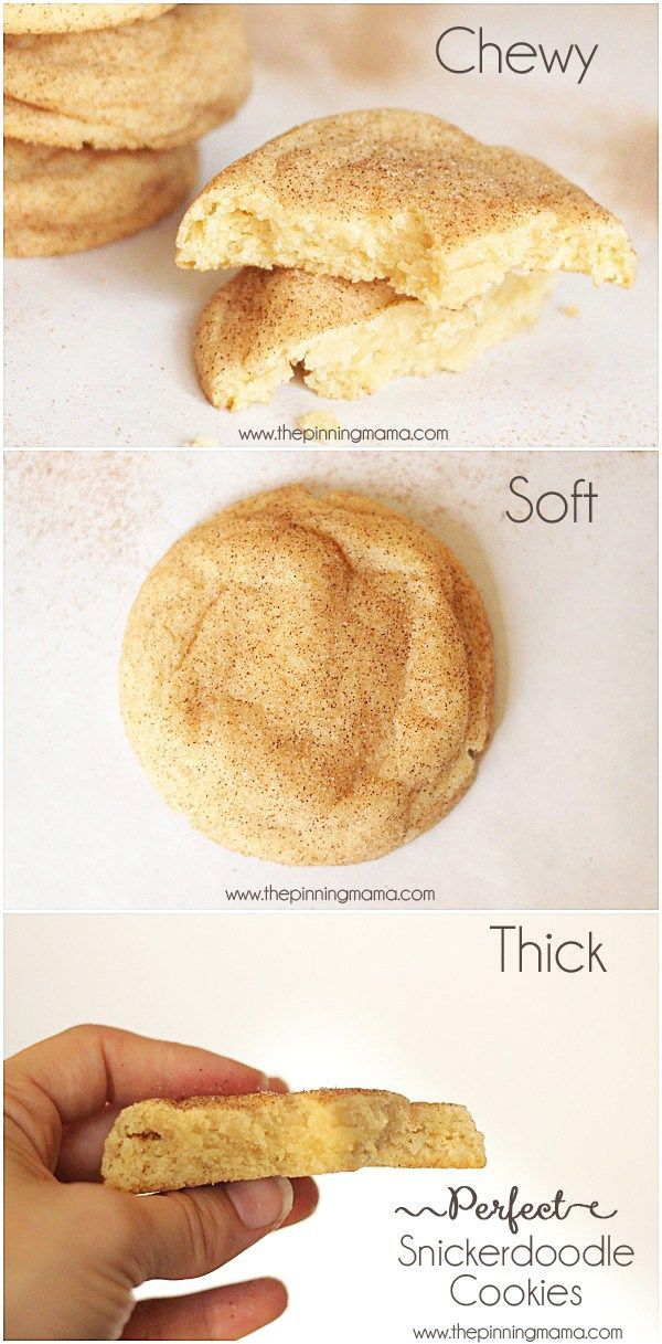 The only recipe for snickerdoodle cookies you will EVER need! These are the best!