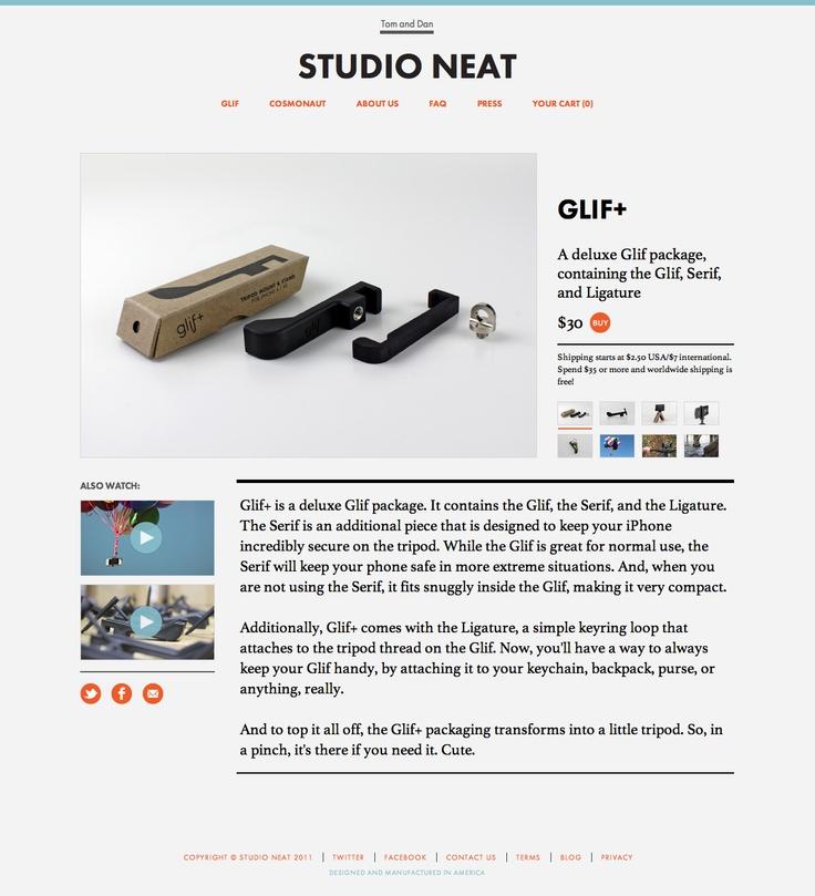 http://www.studioneat.com/products/glifplus