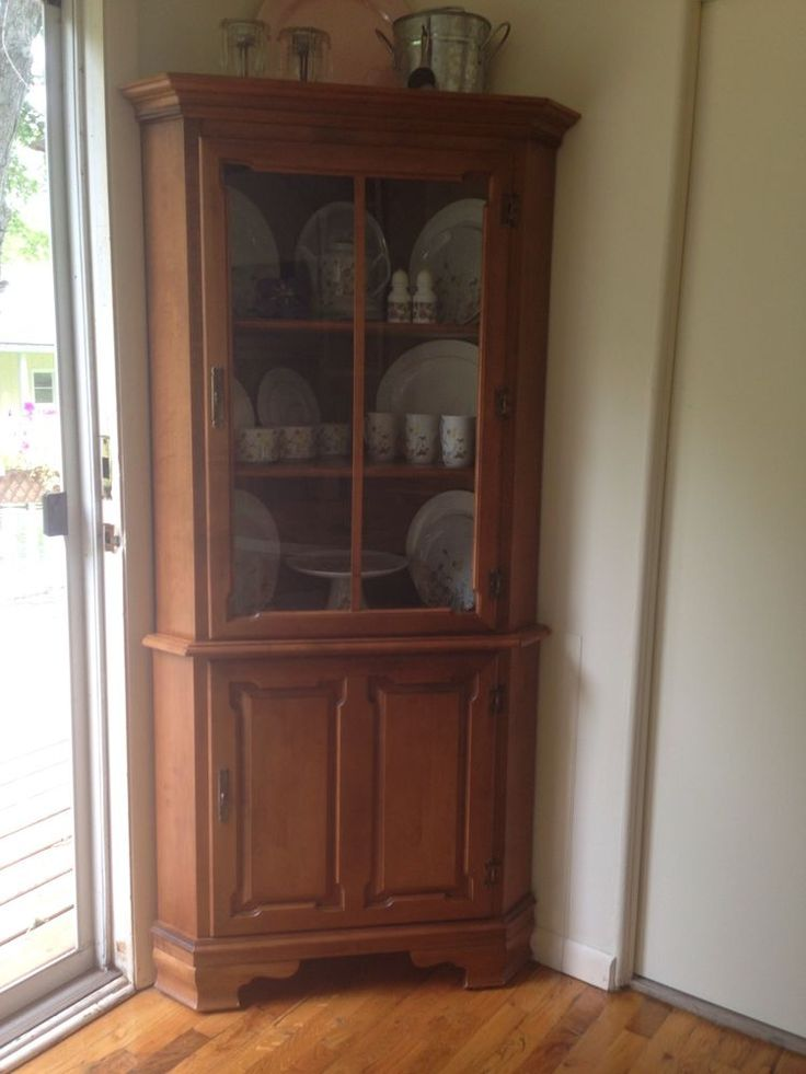 corner china cabinet 101 best tell city images on city furniture 28660