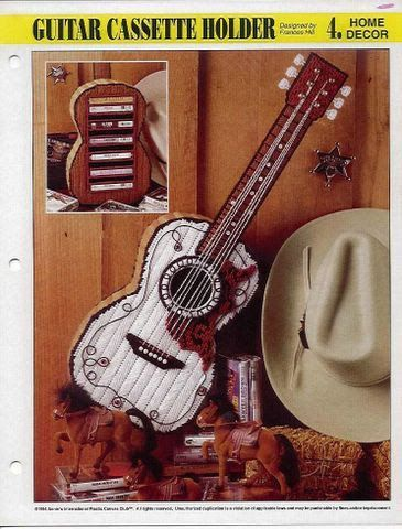 guitarra en plastic canvas - **vicenta** valentin - Picasa Web Albums