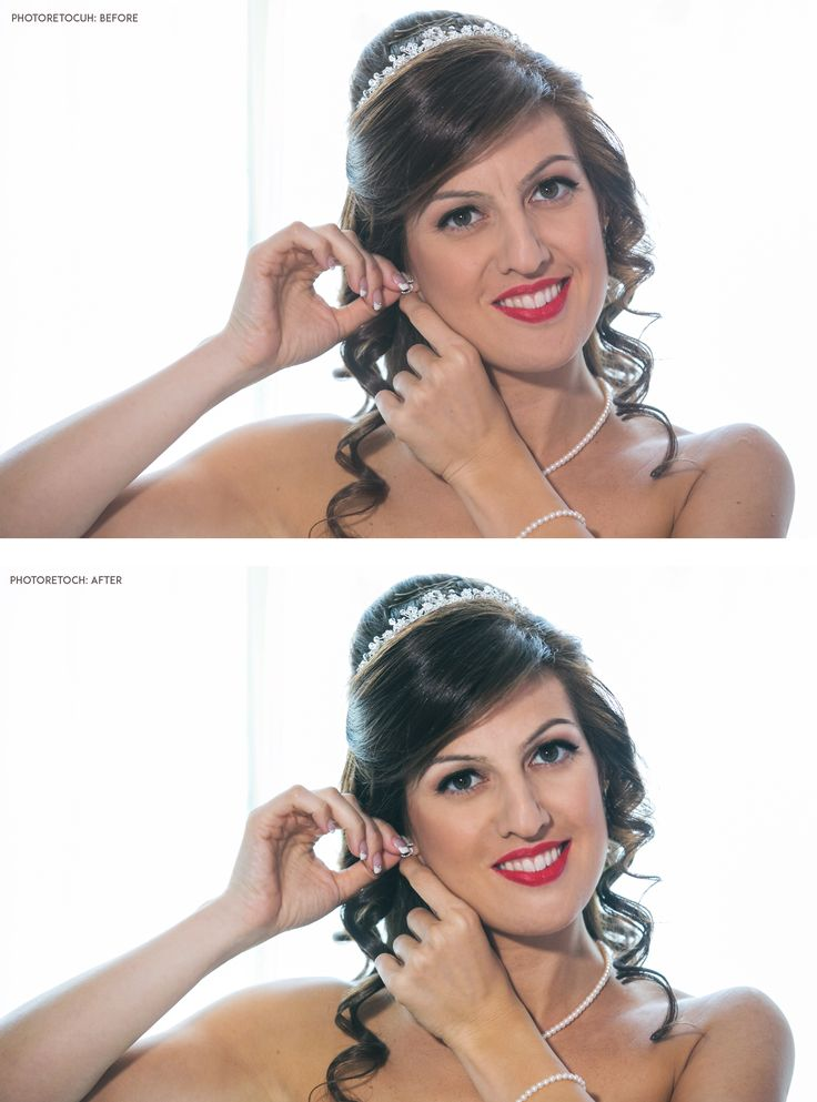 Photo retouch Before - After