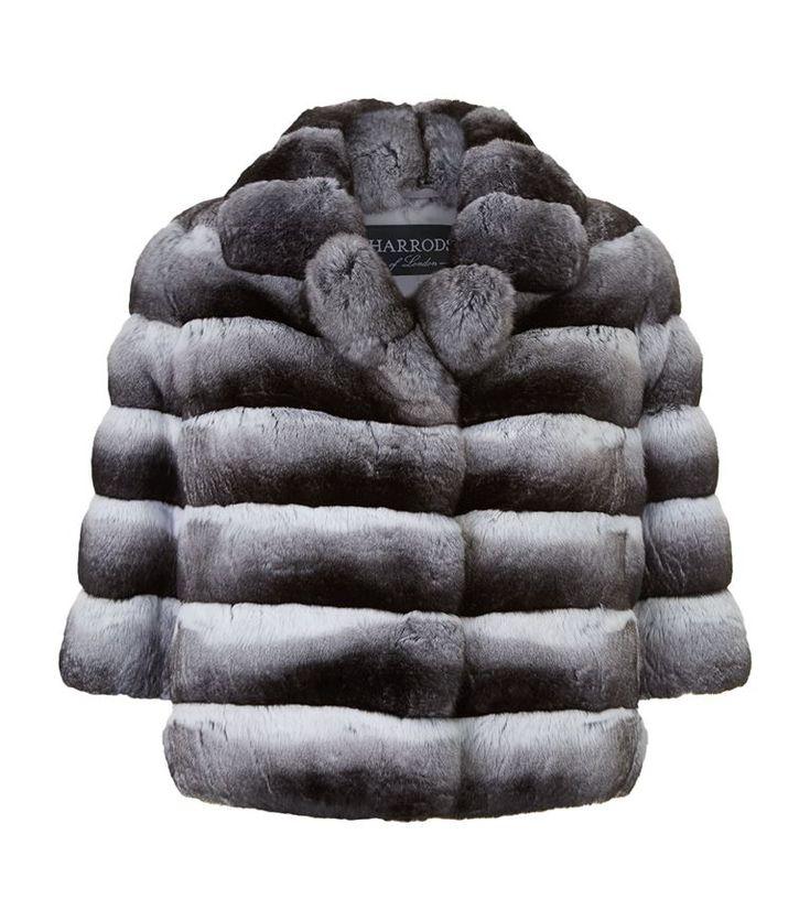 Harrods of London Dorothea Chinchilla Fur Jacket | Harrods.com