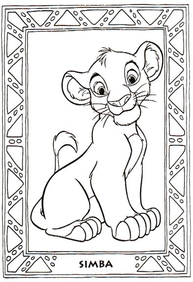 lion king coloring pages google - photo#13